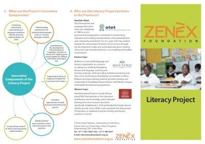 Zenex Foundation Literacy Project